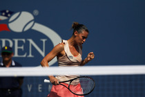 Day 8 started with Italian flair, as No. 11 Flavia Pennetta is once again into the US Open quarterfinals. The 32-year-old veteran scored a win against No. 29 Casey Dellacqua, 7-5, 6-2.