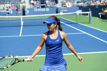 The magical singles run at the 2014 US Open is officially over for young American CiCi Bellis, who lost in the second round of the girlsâ singles competition.