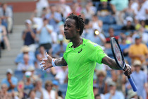 No. 20 Gael Monfils squares off against No. 7 Grigor Dimitrov in fourth-round action