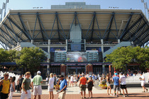 Besides matches, fans of all ages enjoy a wide variety of activities around the grounds at the 2014 US Open.
