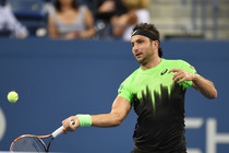 The Australian Marinko Matosevic wore a print reminiscent of the New York skyline.
