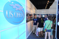Fans get a glimpse of exciting new things to come at the US Open of Tomorrow exhibit.