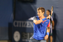 Andrey Kuznetsov defeats Fernando Verdasco in a second round match at the 2014 US Open.