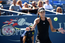 Ana Ivanovic, seeded eighth, in second-round action on Day 4 of the 2014 US Open.