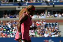 No. 1 Serena Williams cruises to victory in the second round of the US Open.