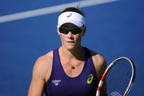 Australia's Samantha Stosur in action on Court 5.