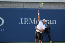 Ivo Karlovic in a round 2 match at the 2014 US Open.